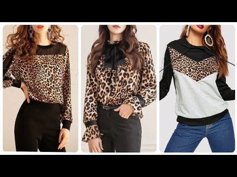Most Trending And Gorgeous Leopard Print Blouse Ideas
