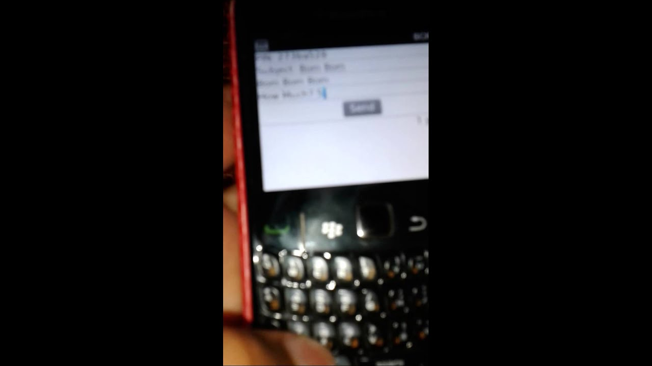 spamman for blackberry