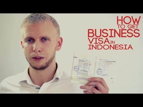 How to get business visa in Indonesia