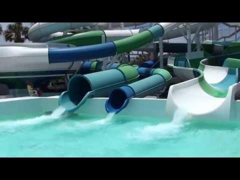 Aqualava waterpark @Lanzasur Splash Resort Lanzarote