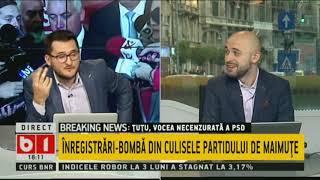 Buna, Romania! INREGISTRARI BOMBA DIN CULISELE PARTIDULUI DE MAIMUTE. 11 OCT 2018, P1/2