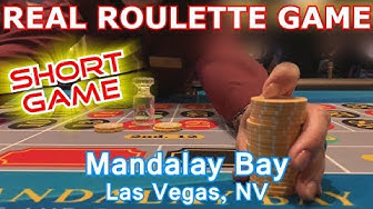 ROULETTE IS FUN! - Live Roulette Game #15 - Mandalay Bay Casino, Las Vegas, NV - Inside The Casino