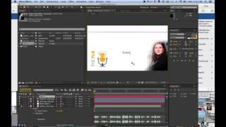 How to make a shareable audio graphic in Adobe After Effects CS6