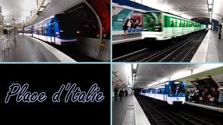 Station de Place d'Italie : Métro de Paris