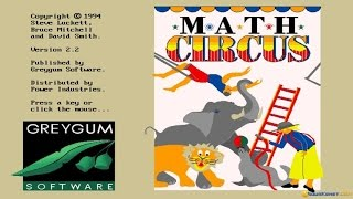 M*A*T*H*S Circus gameplay (PC Game, 1992)