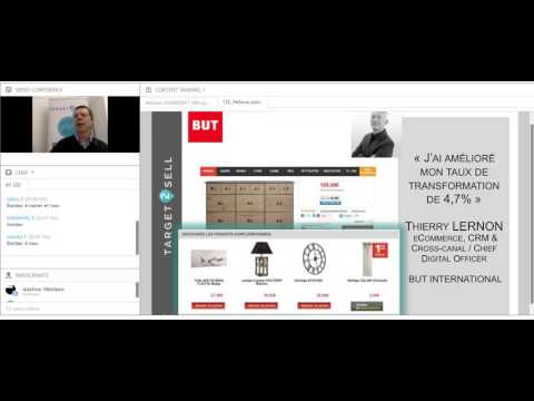 Web Conférence Target2Sell