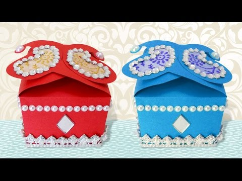 Diy Crafts How To Make Cute Handmade Decorative Small Gift Box Paper