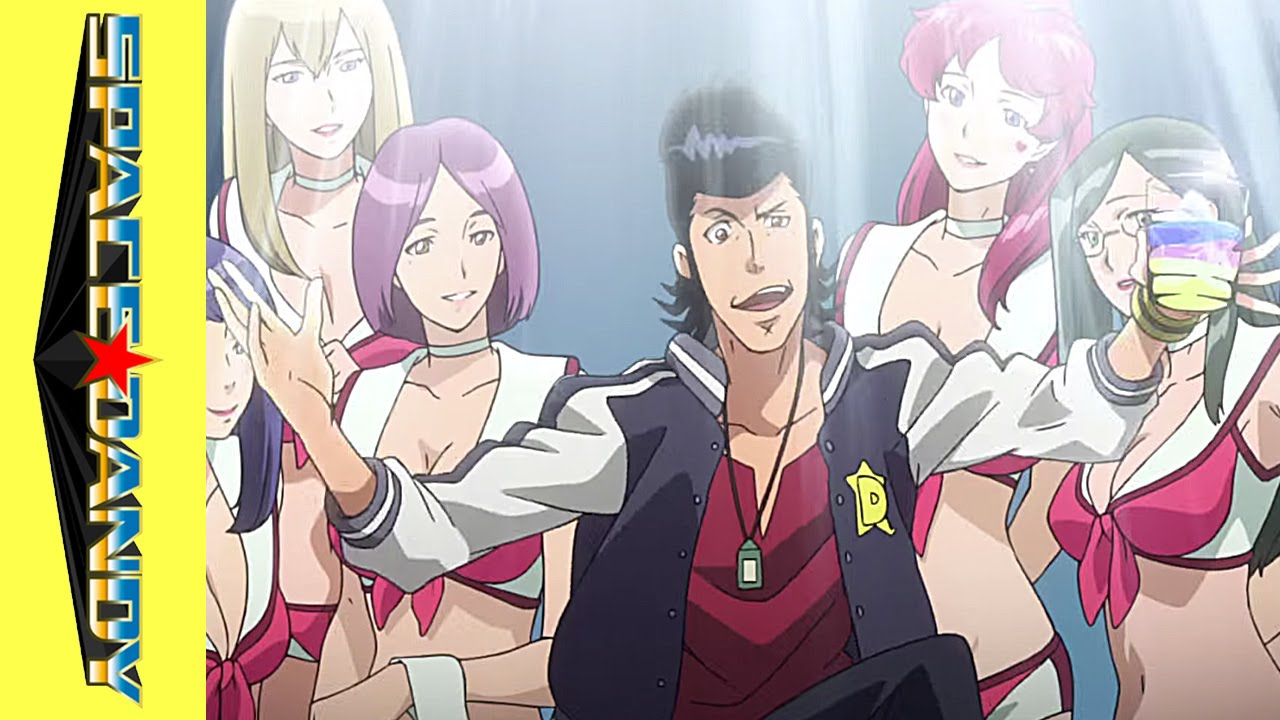 Anime Zombie Girl Wallpaper Space Dandy Promotional Video Youtube