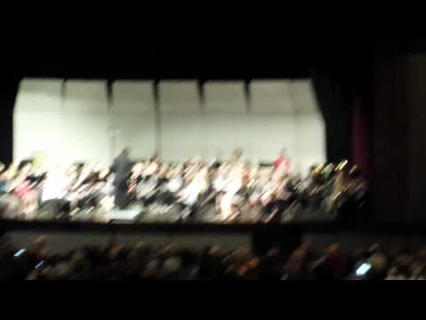 2016 East Central All District Concert Band (part 1) 11/5/16