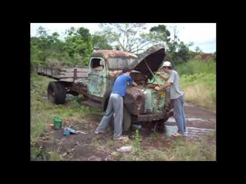 caminhão antigo primeira parte.