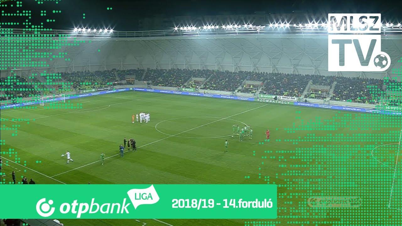 Szombathelyi Haladás - Ferencvárosi TC | 1-0 (0-0) | OTP Bank Liga | 14. forduló | 2018/2019