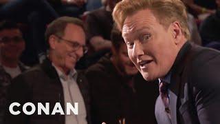 Conan: Robert De Niro Banned Trump From All His McDonald's  - CONAN on TBS