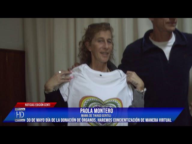 Paola Montero Haremos concientización virtual con Ezequiel Lo Cané