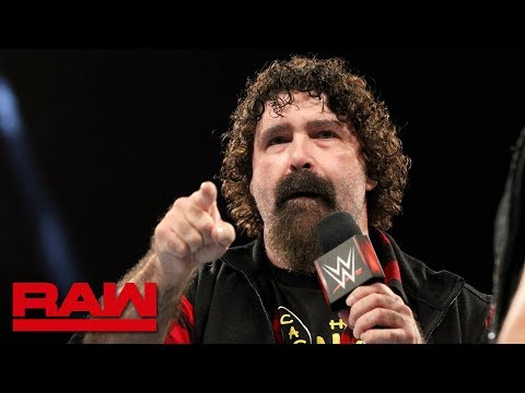 Mick Foley interrupts Elias: Raw, Sept. 10, 2018