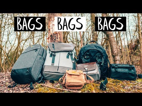 Best Camera Bags For Small Cameras (2018)