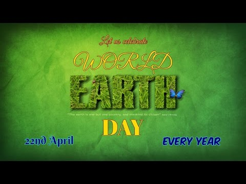 Earth Day - Environment Day - Save Earth