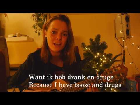 Lil Kleine & Ronnie Flex - Drank en Drugs - Cover