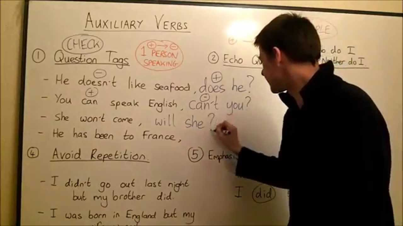 Auxiliary Verbs Youtube