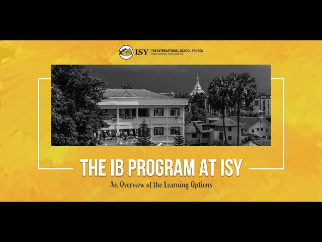 Introduction to the IB Diploma for the Fall of 2020