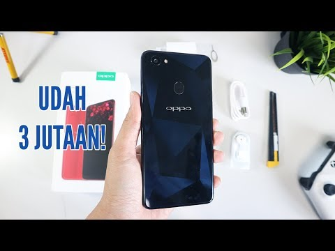 Beli Harga 3 Jutaan! Oppo F7 4GB Diamond Black Unboxing