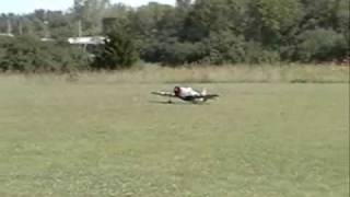 P-47 Giant Scale Maiden flight....crash.