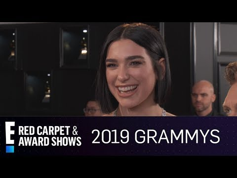 Dua Lipa Can't Stop Crying at 2019 Grammy Awards | E! Red Carpet & Award Shows Mp3