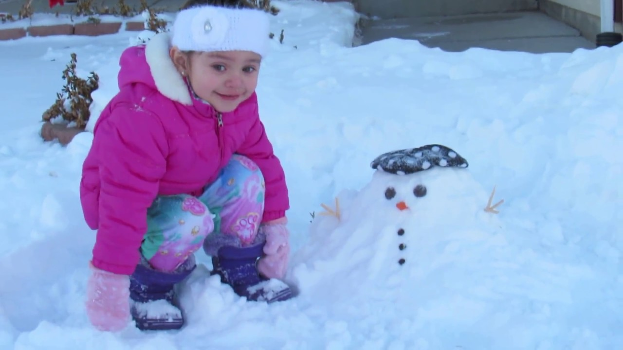 A Spray Painted Snowman   And Next Comes L  Snowman Too Much Snow