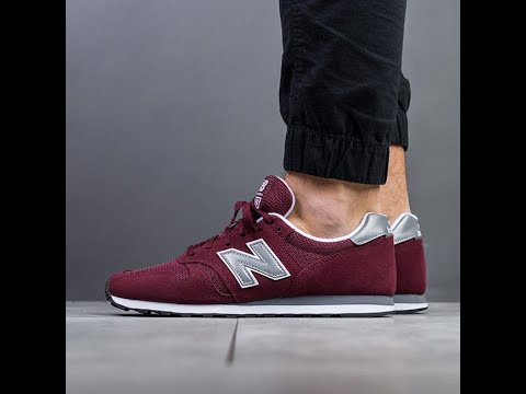 UNBOXING & ON FEET - New Balance ML 373 - Cardinal Red