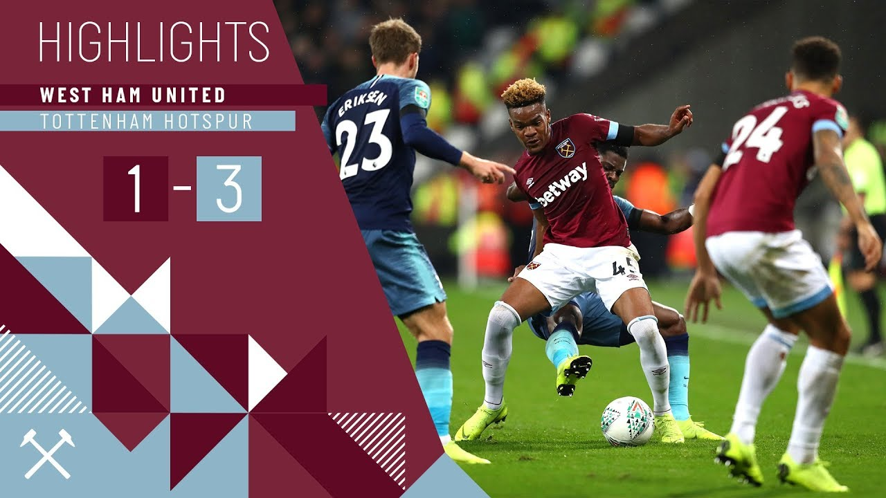 HIGHLIGHTS | WEST HAM UNITED 1-3 TOTTENHAM HOTSPUR