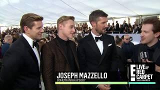 "SAG Red Carpet: Bohemian Rhapsody cast on ""unbelievable response"" 27/01/2019"