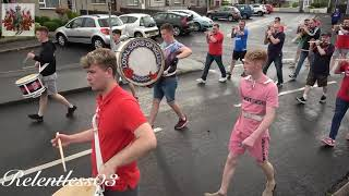 Ahoghill L S O W Full Clip 11th Night Parade Around The Village 11 07 19