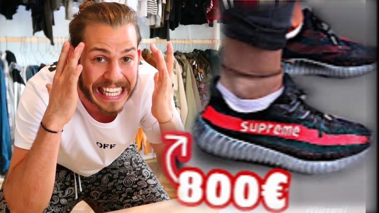 Die 800 Fake Supreme Yeezy Ich Raste Aus Youtube