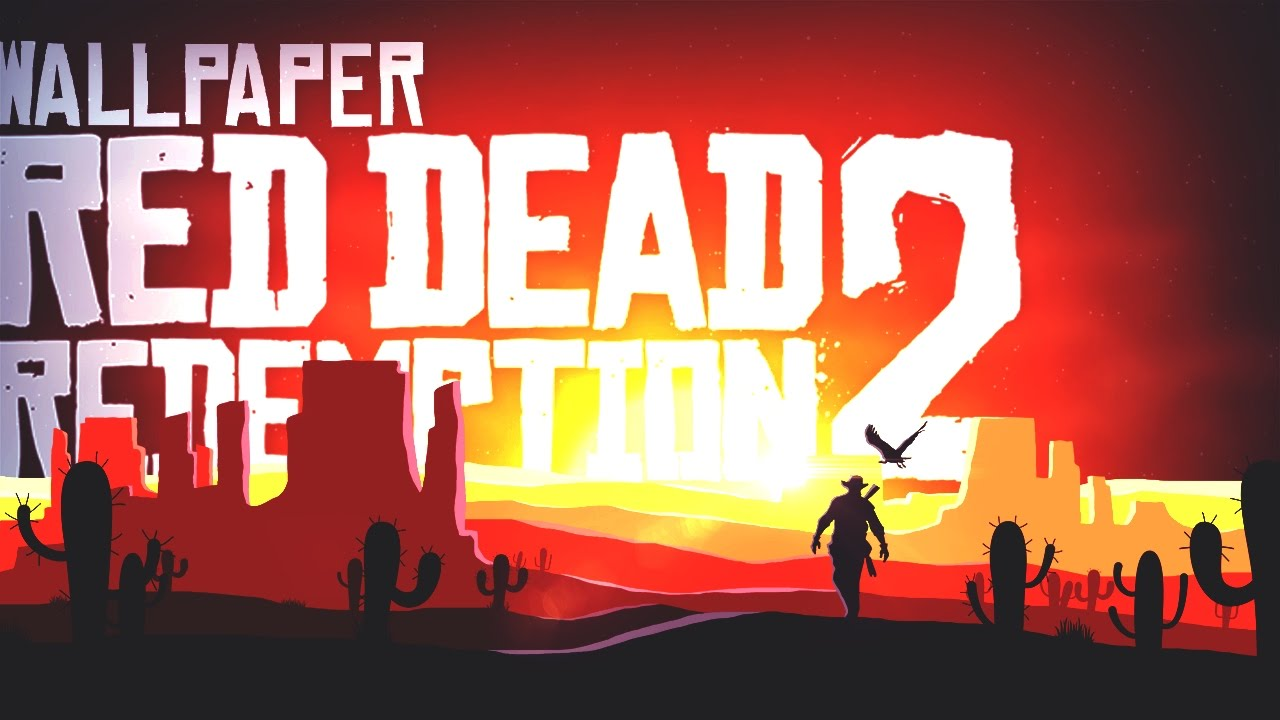 Red Dead Redemption 2 Wallpaper Speedart Photoshop Youtube
