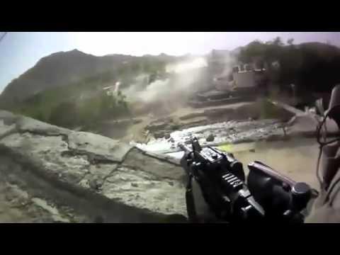 Afghanistan War 2011 Real Helmet Cam Footage!