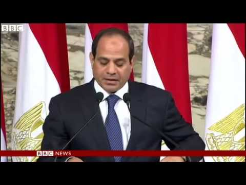 BBC News   Abdul Fattah al Sisi sworn in as Egypt president
