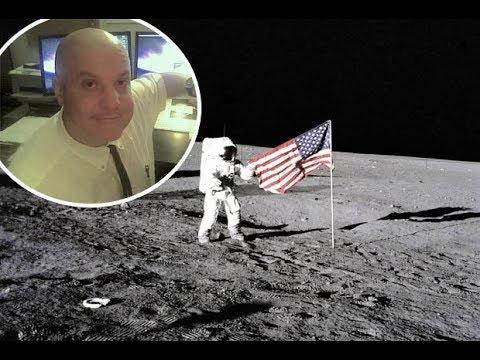 """Bart Sibrel, """"Fake Moon Landing, Fake News & Freemasons"""""""