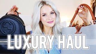 LUXURY HAUL ft Gucci, Louis Vuitton, Gianvito Rossi & More