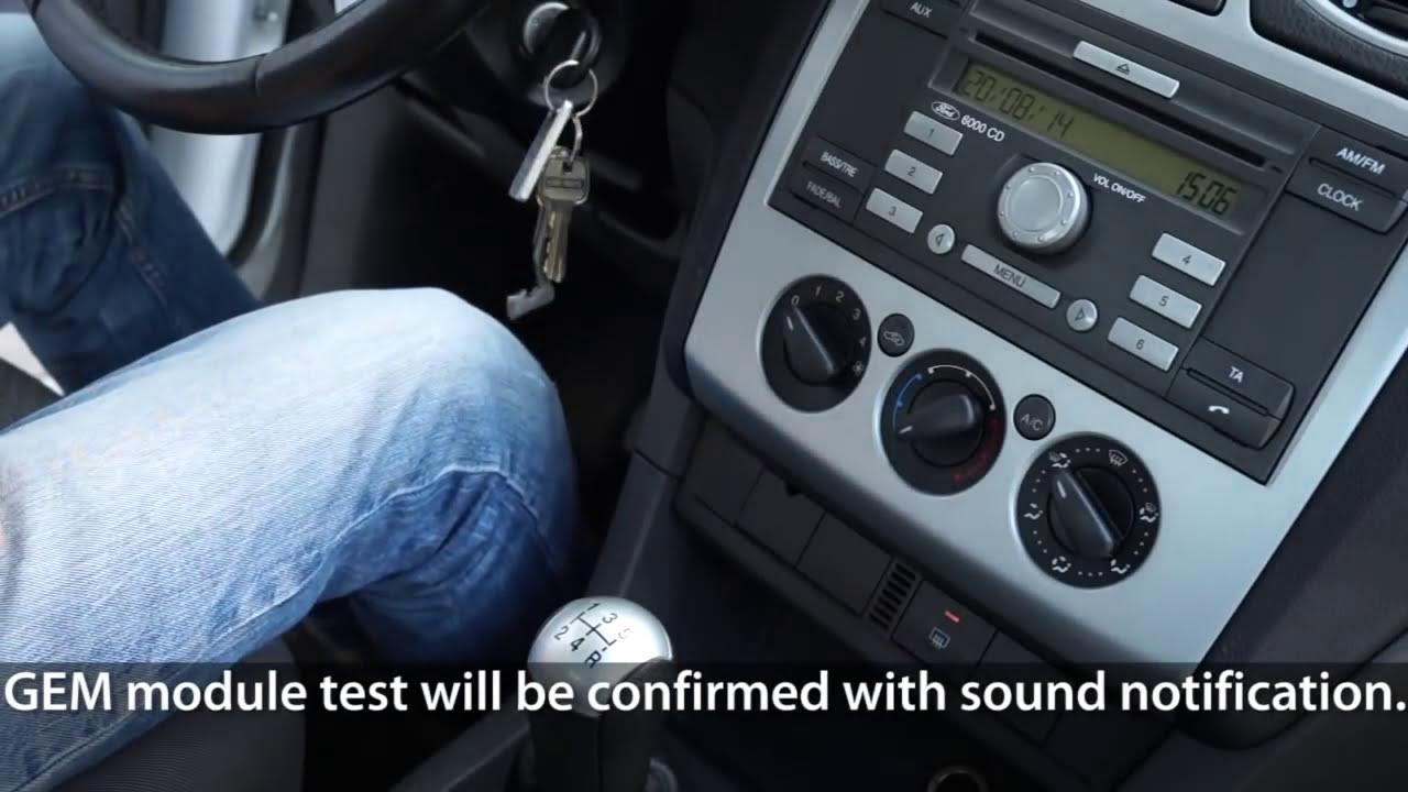 How To Test Gem Module In Ford Focus Mk2 / C-Max (Car Diagnostics)  Mr-Fix  01:13 HD