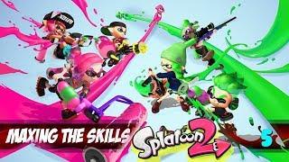 Splatoon 2 - Maxing the skills 5