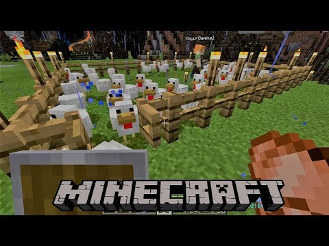 [Hindi] MINECRAFT GAMEPLAY | WORKING IN MINES AND SAVING VILLAGE FROM RAIDERS#3