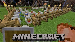 hindi-minecraft-gameplay-working-in-mines-and-saving-village-from-raiders-3