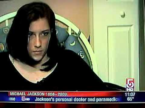 Me on channel 5 after Michael Jackson&39;s death