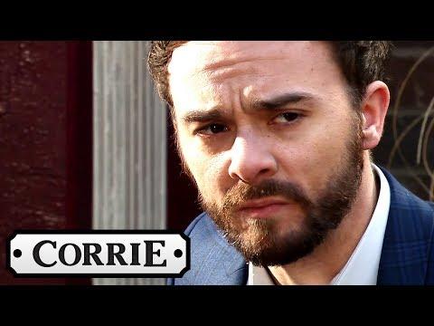 Coronation Street - David Finally Tells Someone He Was Raped
