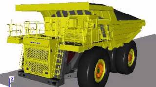 Rock Handler BELAZ: Universal Mechanism Demo