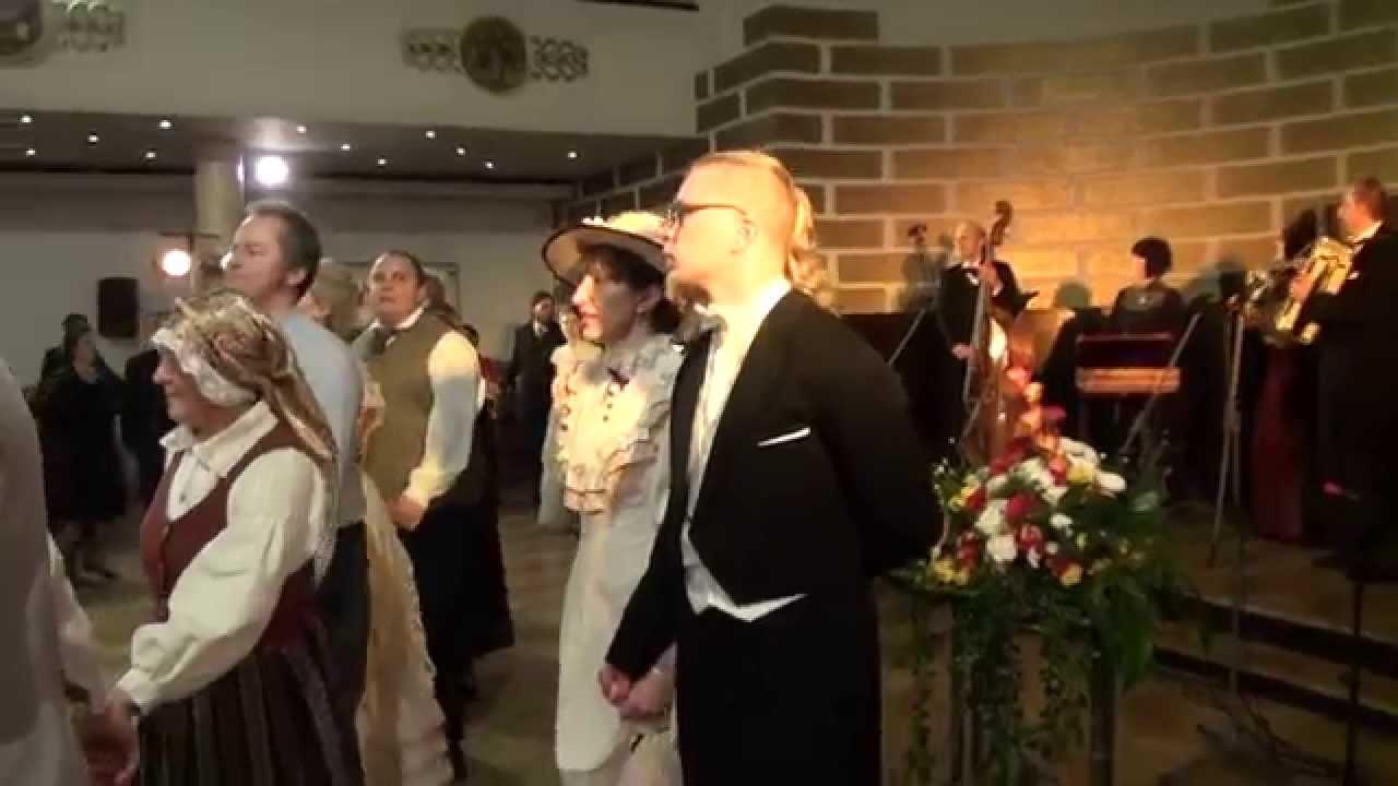 """00696 Folkloras mūzikas un deju kopas DANDARI 35 g. jubilejas """"kadriļu balle"""
