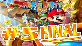 "DS | Mario Party DS Parte 5 FINAL ""El pinball de Bowser y Bowser"" Comentando"