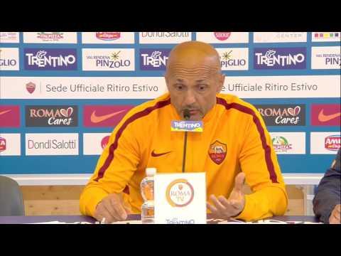 """Conferenza Spalletti: """"Non sono io a dire quando Totti deve smettere e non è detto che lo farà"""""""