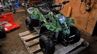 Un-Boxing 110cc Chinese ATV