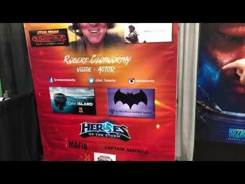 Robert Clotworthy's Message to Xander and Sean V. Bradley II  Ancient Aliens  Batman Telltale