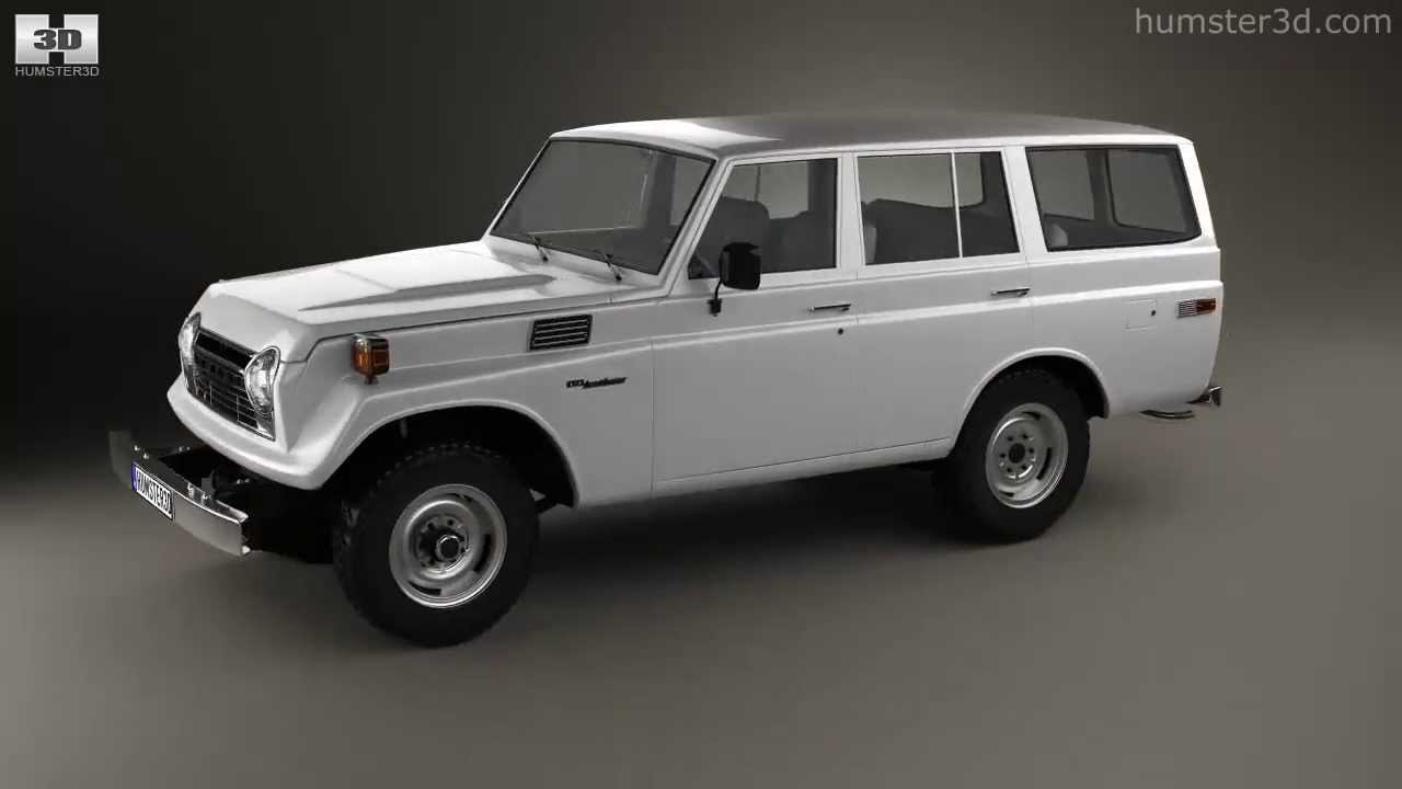 Toyota Land Cruiser (J55) 1975 by 3D model store Humster3D ...